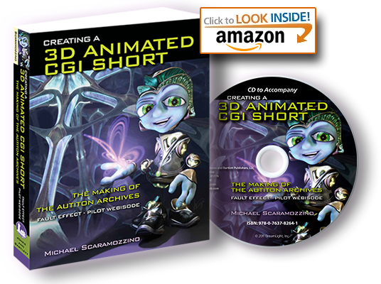 Book - Creating a 3D Animated CGI Short on Amazon